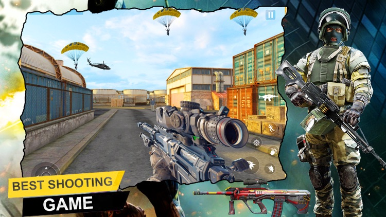 Killer Shooting Strike 3D screenshot-4