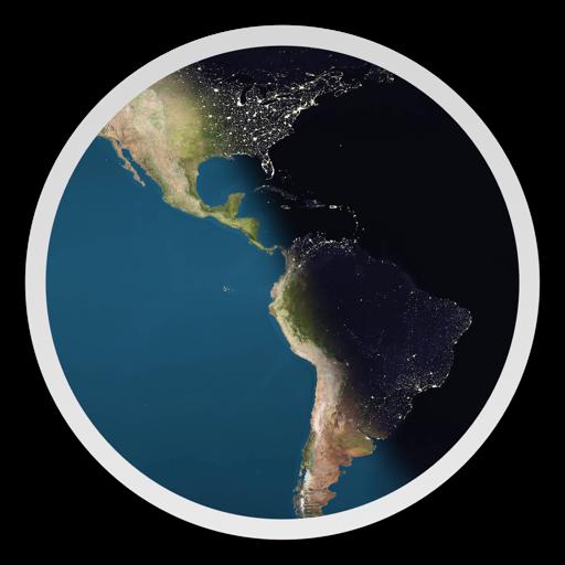 Day & Night World Map Studio bei MAREK HRUSOVSKY