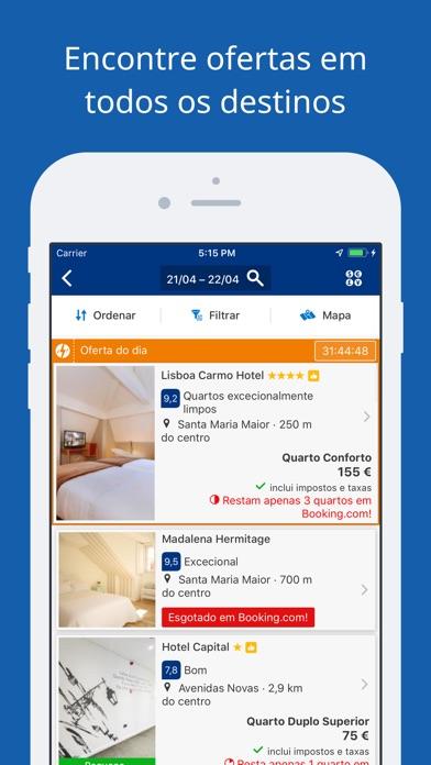 Screenshot for Ofertas de viagem Booking.com in Portugal App Store