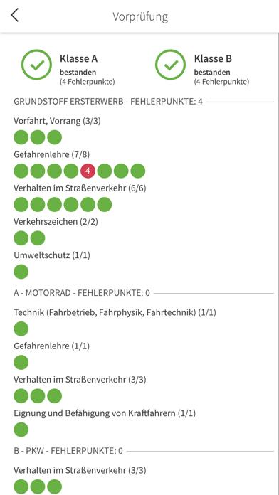 Screenshot for Fahrschulcard in Germany App Store