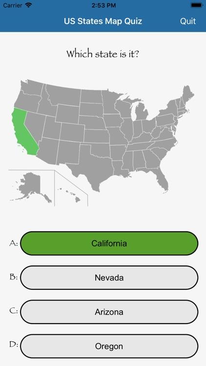 US States Flags Seals Quiz screenshot-4