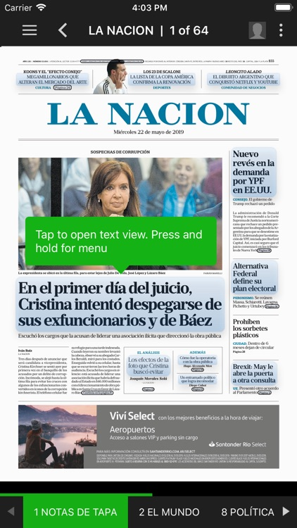 LA NACION Kiosco screenshot-2