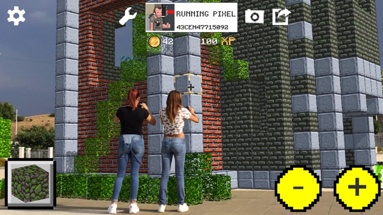 WrldCraft Blocks Legends AR screenshot-3