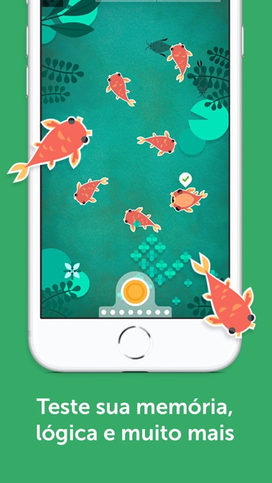 Screenshot for Lumosity: treinamentos diários in Portugal App Store