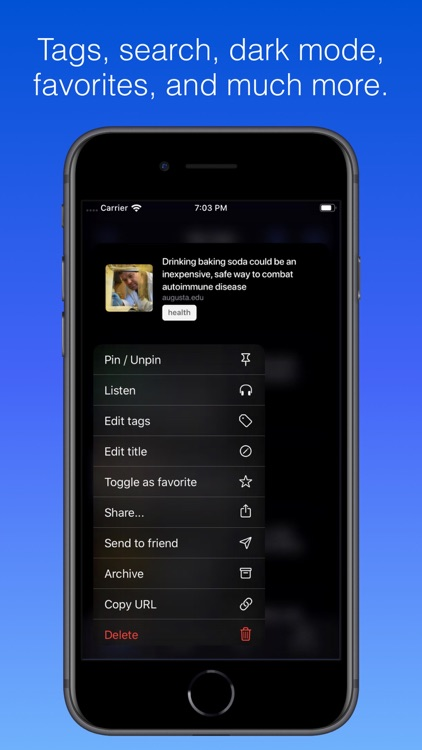 Keep - Smart Bookmark Manager screenshot-4