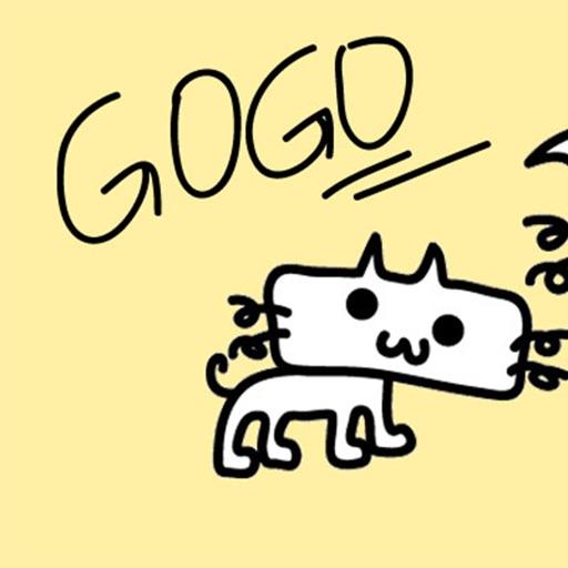 GOGO-Sticker
