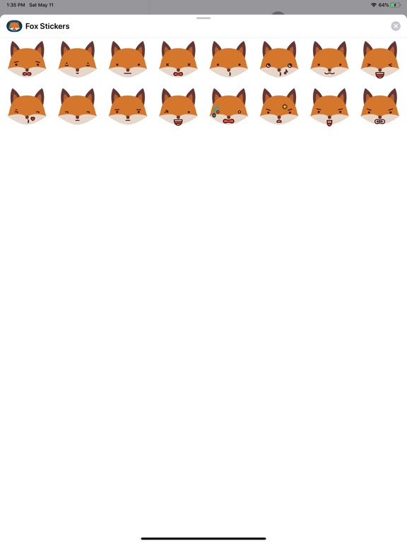 Fox Funny Emoji Stickers screenshot 4