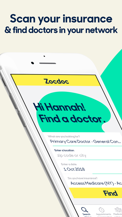 Zocdoc: Find Local Doctors