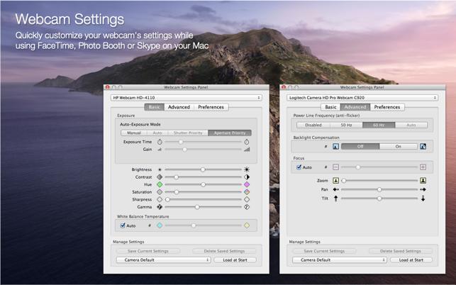 Webcam Settings On The Mac App Store
