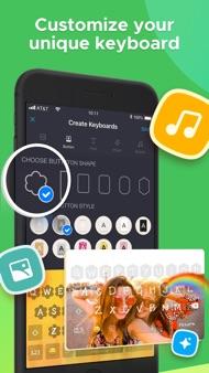 New Emoji & Fonts - RainbowKey iphone images