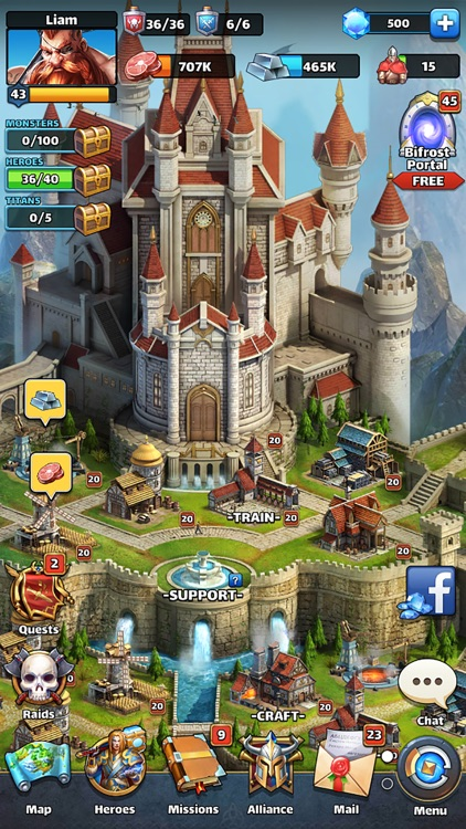 MythWars & Puzzles:RPG Match 3 screenshot-6