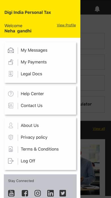 EY Digi India Personal Tax screenshot three