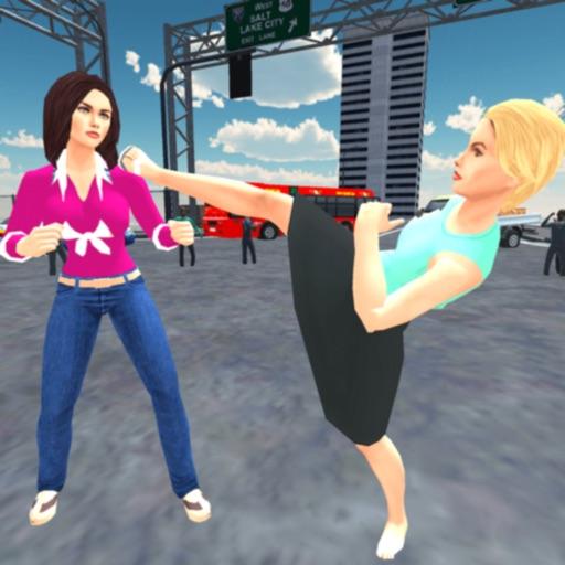 Girl City Fighter Street Fight iOS App