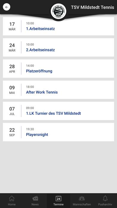 TSV Mildstedt TennisScreenshot von 4