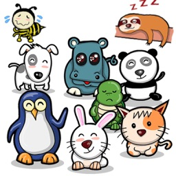 Chat With Cute Animals Sticker
