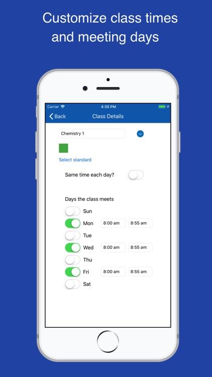 Class Planner for teachers screenshot-4