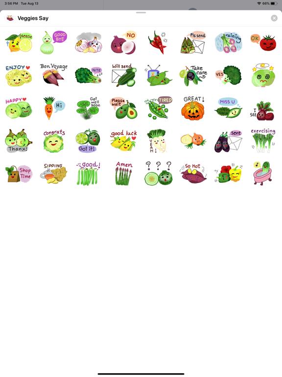 Veggies Say screenshot 4