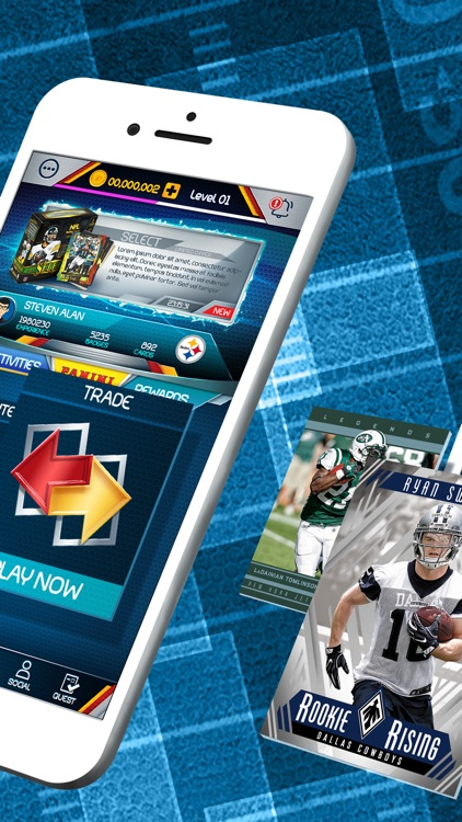 NFL Blitz - Trading Card Games screenshot-1