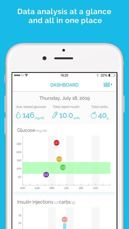 DIABNEXT Manage your diabetes screenshot-3