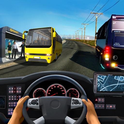 开车游戏 - 公交车卡车汽车模拟器