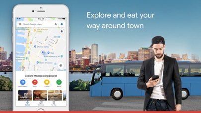 Google Maps - Transit & Food app image