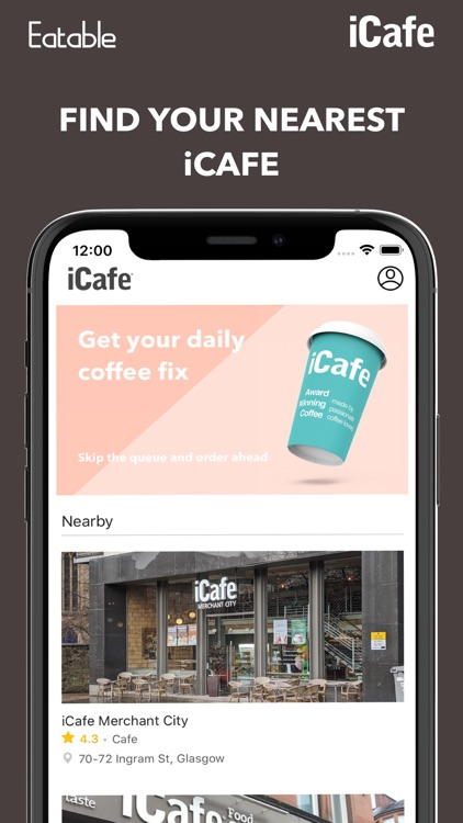 iCafe: Mobile Ordering