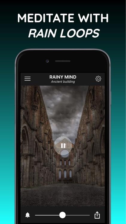 Rainy Mind+ rain sleep sounds screenshot-4