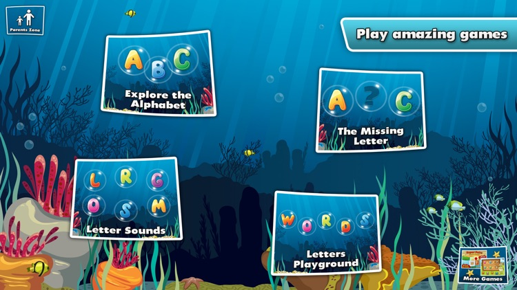 Underwater Alphabet: ABC Kids screenshot-4