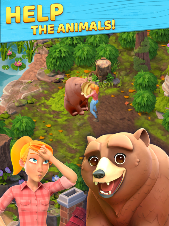 Wild Life: Puzzle Story screenshot 5
