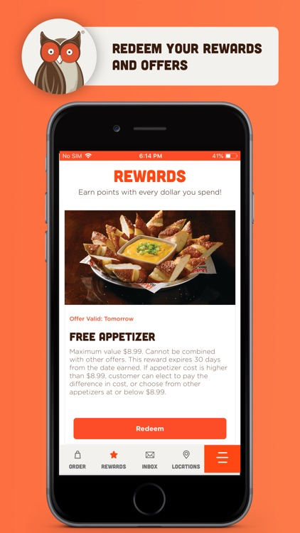 Hooters - Ordering and Rewards screenshot-3