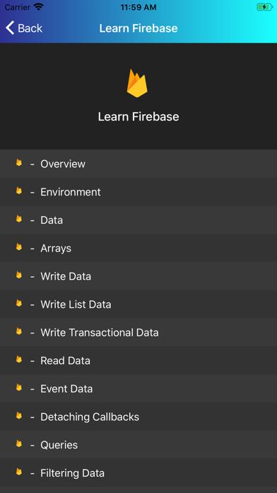 Learn Firebase [PRO] screenshot 3