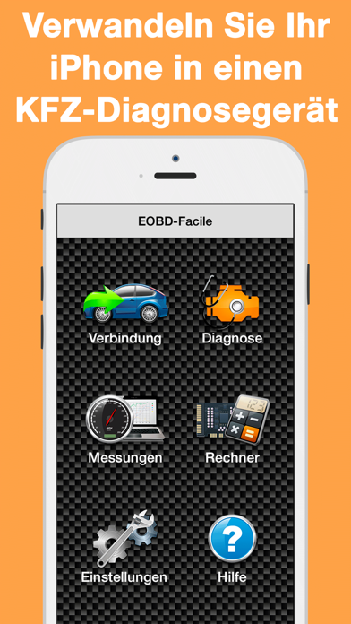 Herunterladen EOBD Facile OBD-2 Kfz Diagnose für Pc