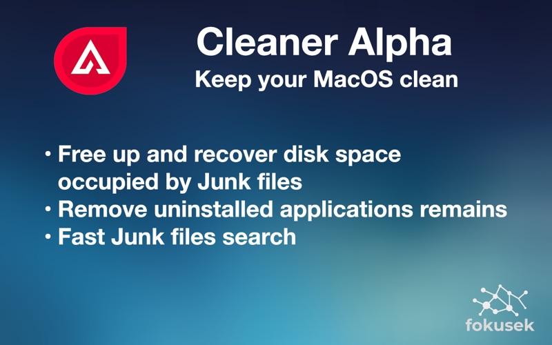 Cleaner Alpha: System Doctor скриншот программы 1