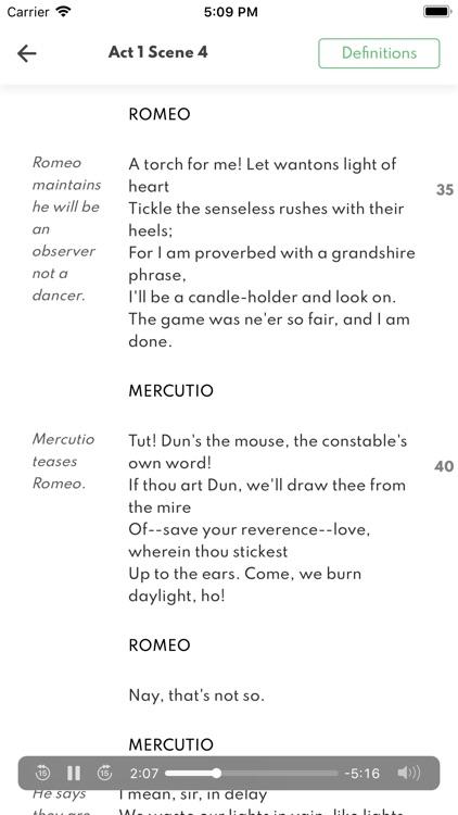 Romeo and Juliet Full Audio screenshot-4