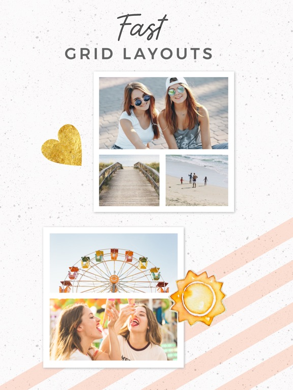 Screenshots for PicCollage Grid & Photo Editor