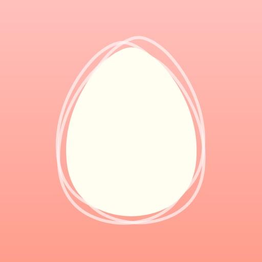 基礎体温で生理・排卵日を予測:eggy