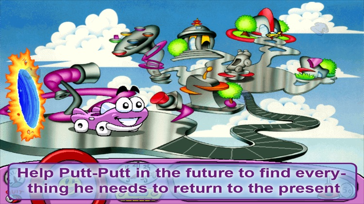 Putt-Putt Travels Through Time screenshot-4