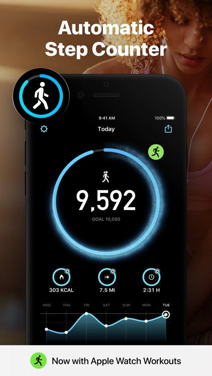 StepsApp Pedometer screenshot-6
