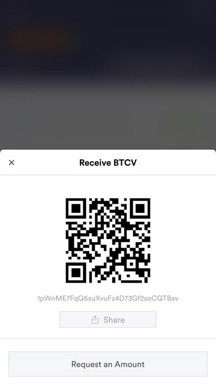 BitcoinV Wallet (BTCV) screenshot-4