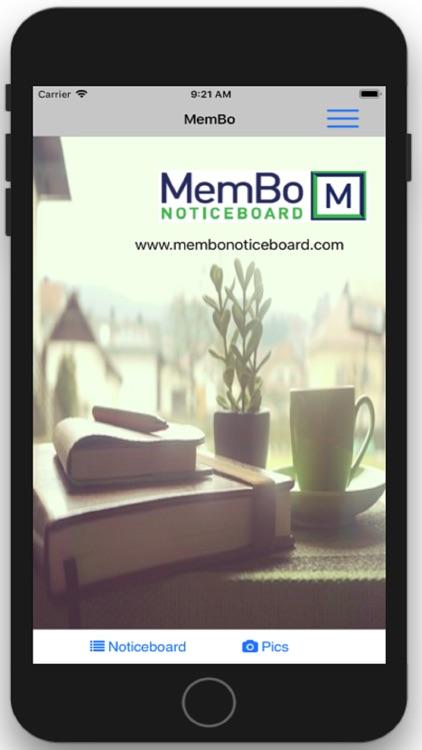 MemBo Noticeboard