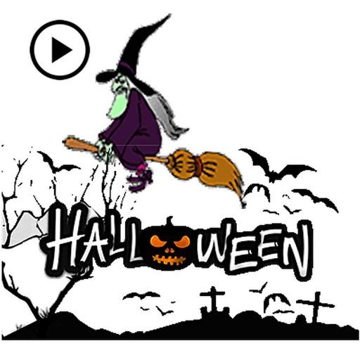 Animated Halloween Sticker Gif