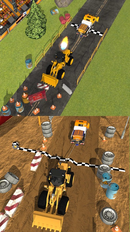 Trucks Tug Of War screenshot-2