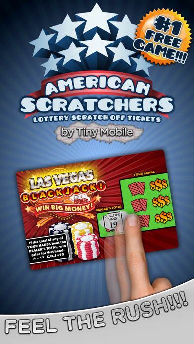 American Scratchers Lottery by Tiny Mobile Inc  (iOS, United States