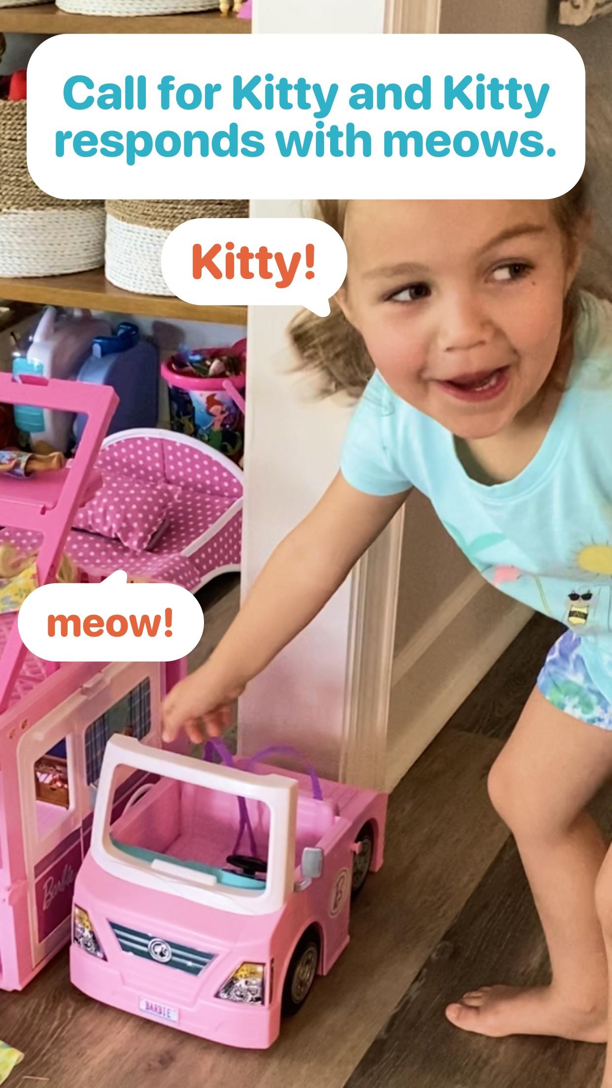Screenshot do app Here Kitty!