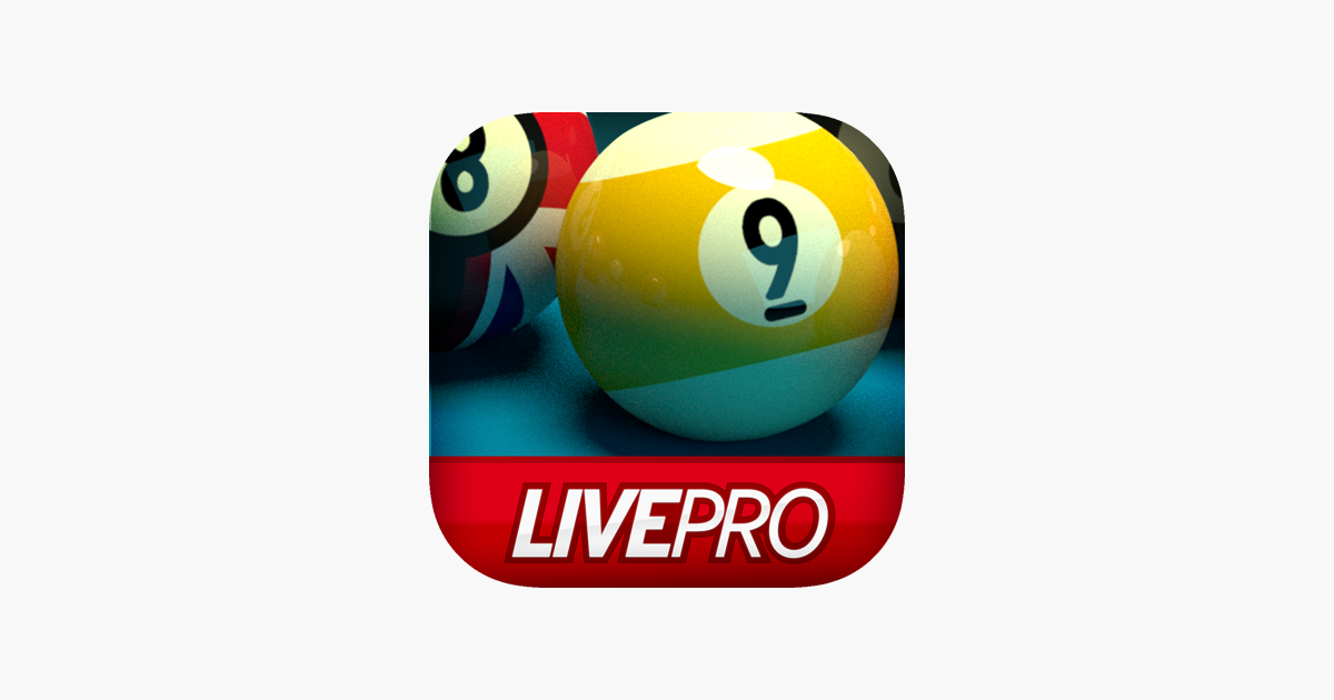 Pool Live Pro 8 Ball & 9 Ball on the App Store