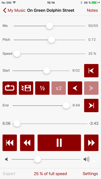 Amazing Slow Downer Screenshot