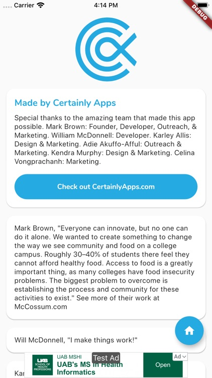 Campus Free Food screenshot-3