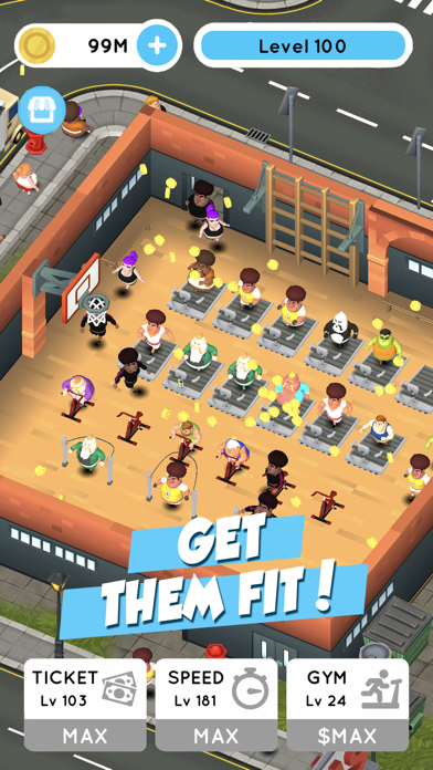 Fit the Fat: Idle Gym screenshot 1