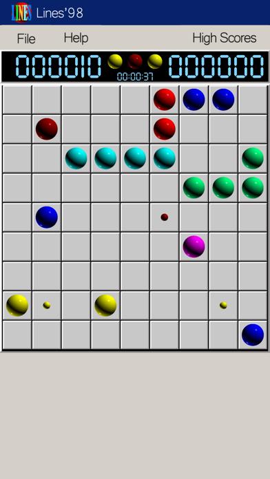 Line 98 Classic 1998 screenshot 1