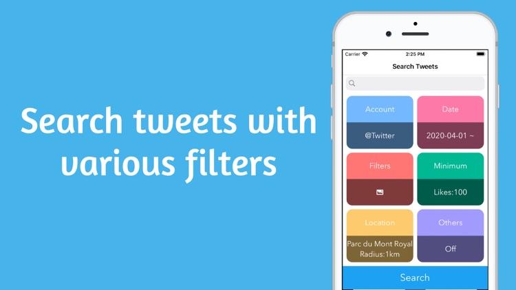 TwiSearcher - Search Twitter
